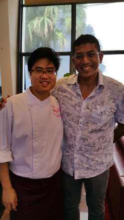 Chef Sawarto With MP Darryl David