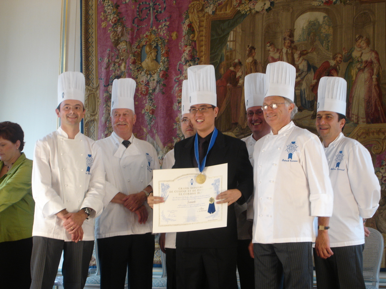 Le Cordon Bleu Paris -Graduation Day