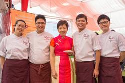 Team Chefs At Istana Garden Party 2014