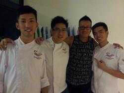 Chefs With Celebrity Chen Han Wei