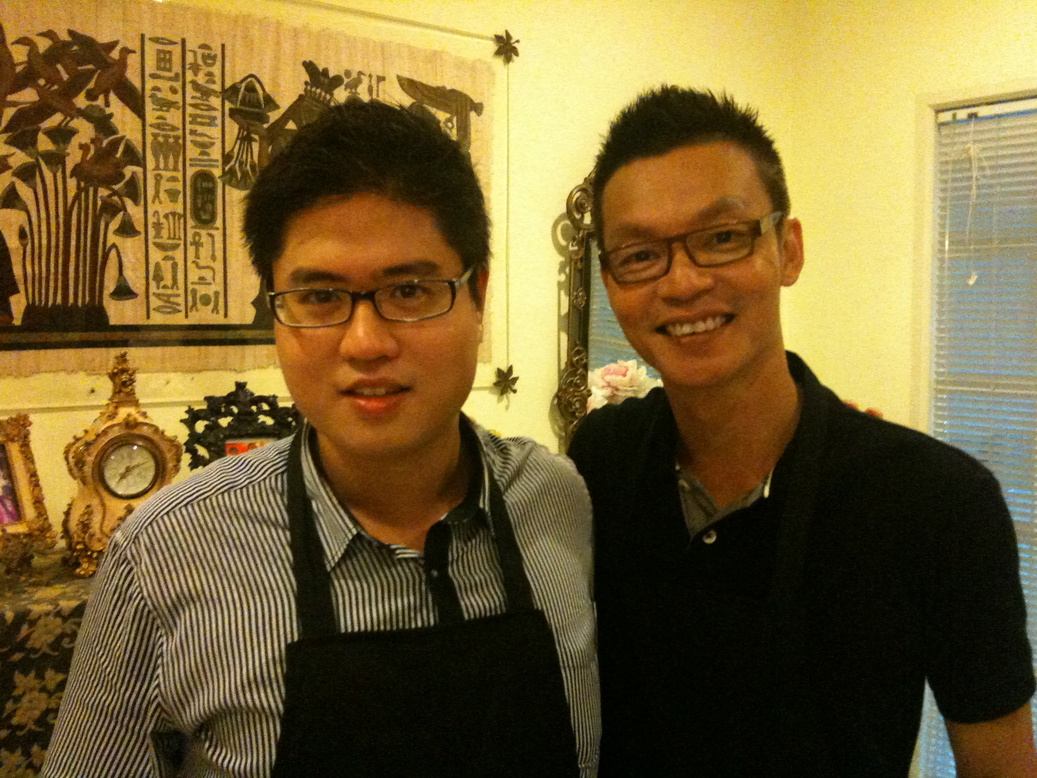 Chef John Sawarto With Mark Lee
