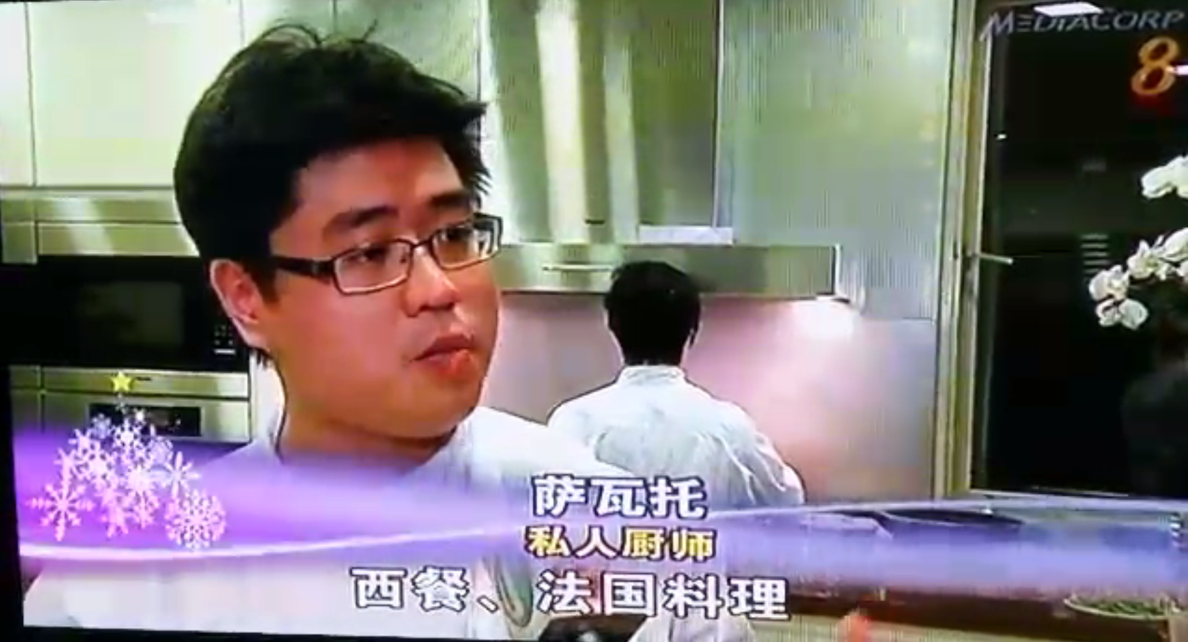 Personal Chef Singapore Channel 8 New