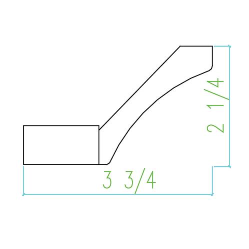 WS SCM 2 1/4-Heel
