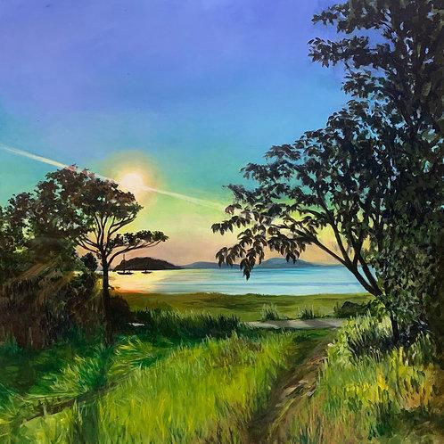 Sunset On The East Coast
