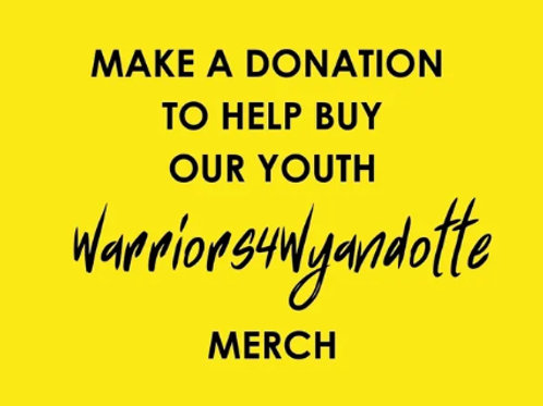 YOUTH MERCHANDISE DONATION