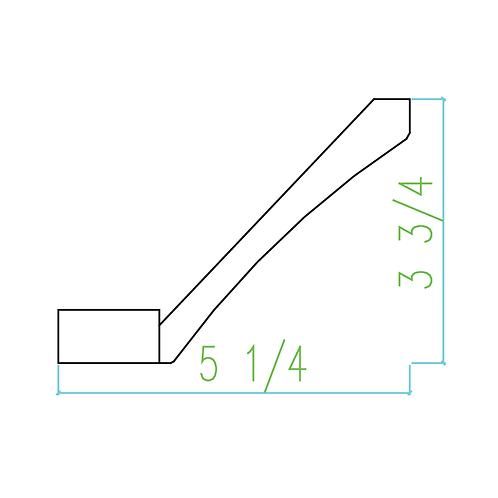 WS SCM 3 3/4-Heel
