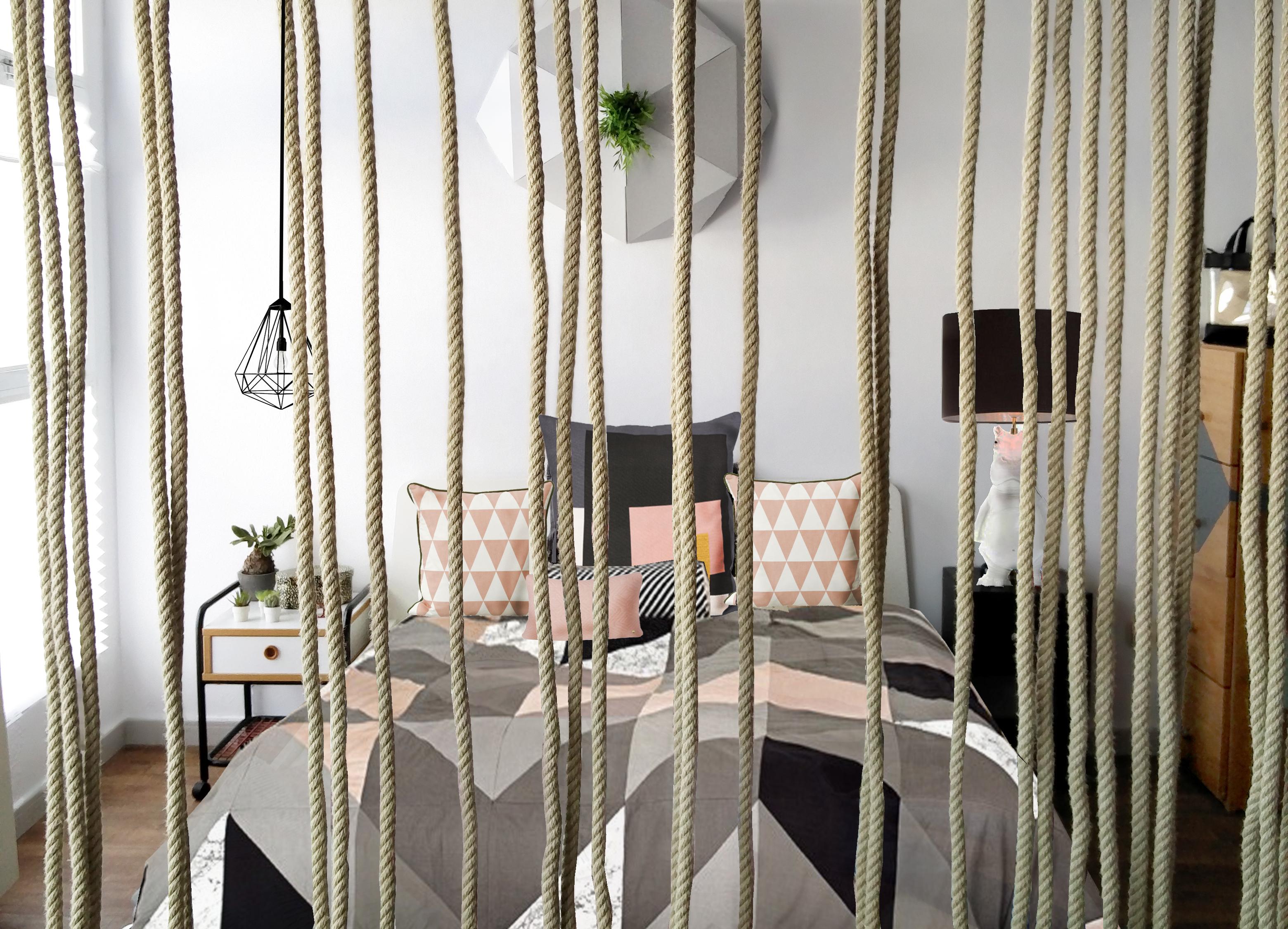 Dormitorio tipo Loft Sierra Madrid