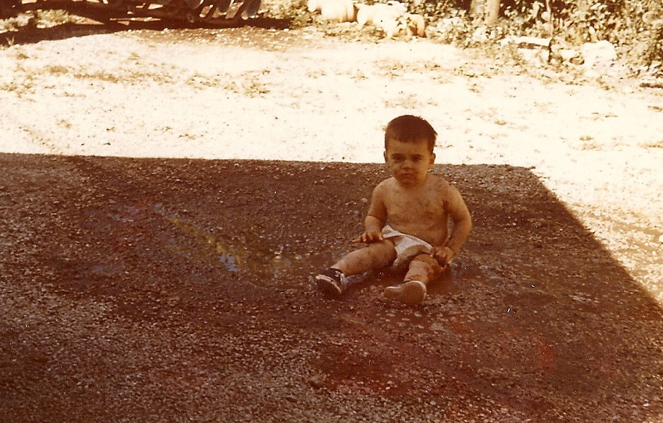 Me - Grandfather John Fiore's Nursery-1957.jpg