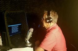 Studio voix hors champs