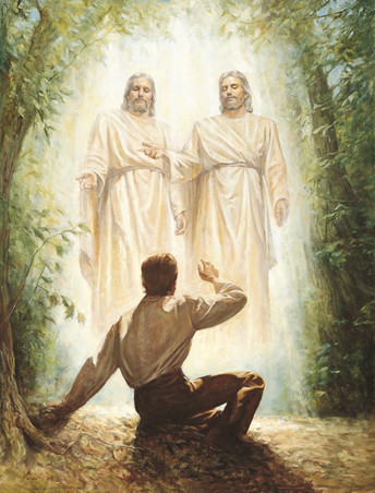 Heavenly Father, Jesus Christ, and the Holy Ghost