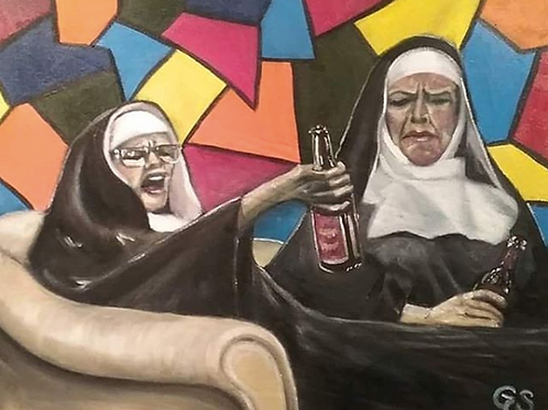 Nuns Drinking too