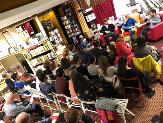 Presentación en Poblenou (Barcelona)