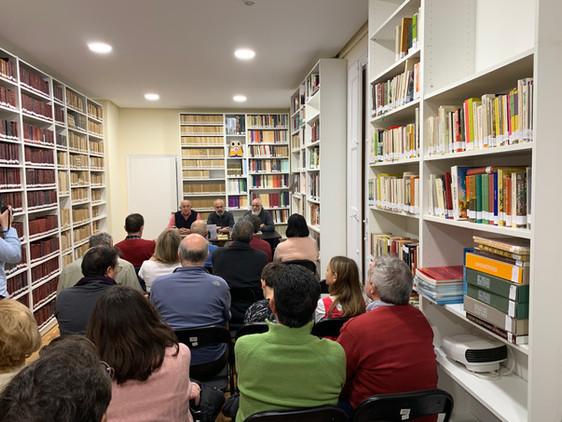 Presentación de La enfermera del desierto en Logroño