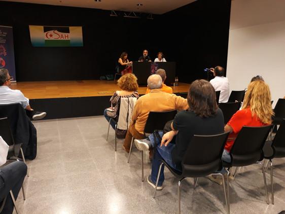 Presentación en Castelldefels