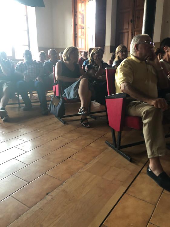 Presentación en Bañares (La Rioja)