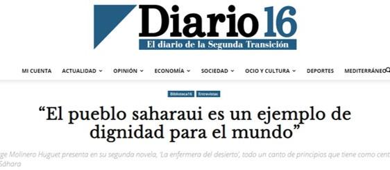 Entrevista en Diario 16