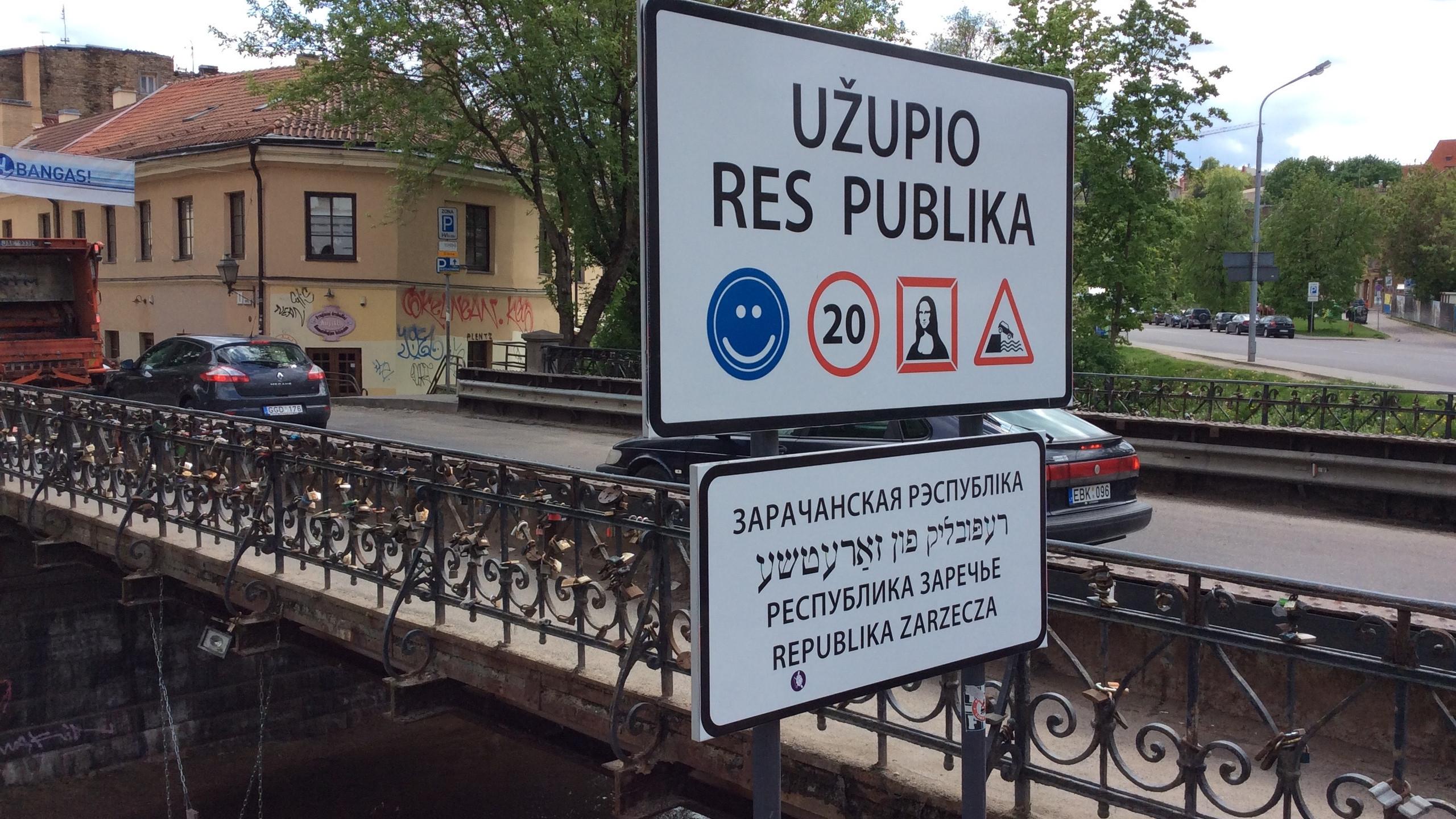 The Republic of Užupis