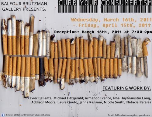 2. Curbyourconsumerism exhibition