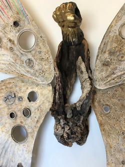Mariposa (detail)