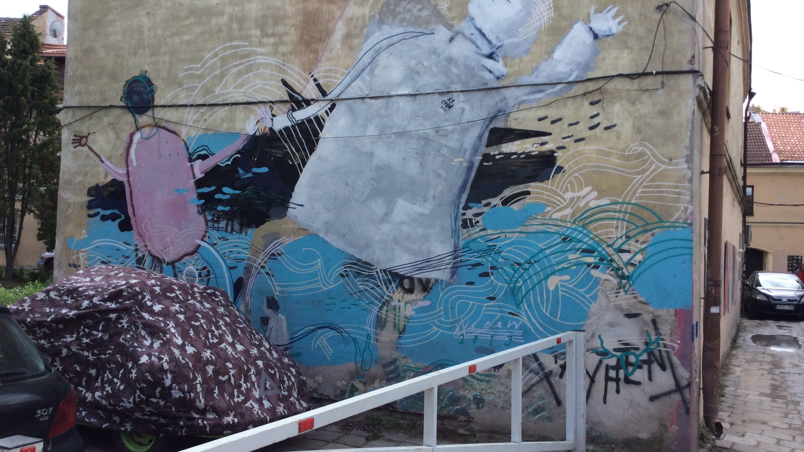 Graffiti, The Republic of Užupis