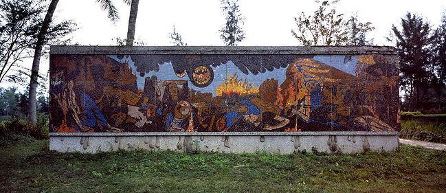 Binh Danh Mural of My Lai Massacre, Son