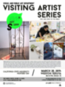 SPRING 2019 visiting artists series-West