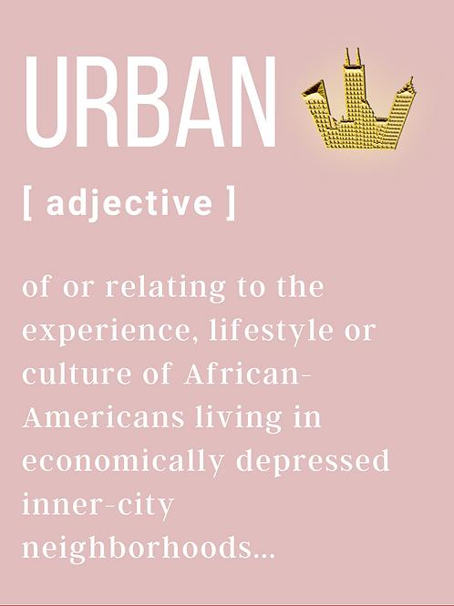 Urban Definition Hoodie