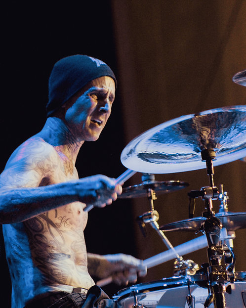 Travis Barker of blink-182 - Color