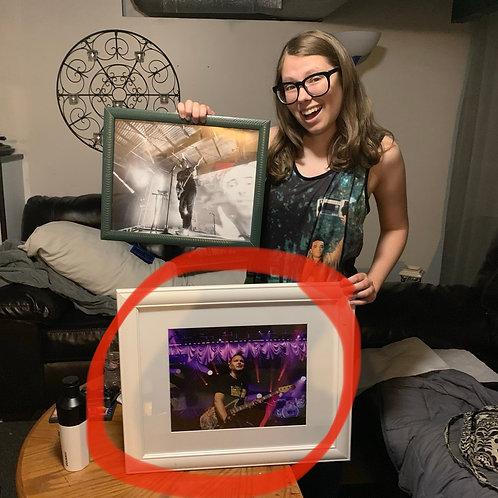 Framed Mark Hoppus of blink-182 1/1