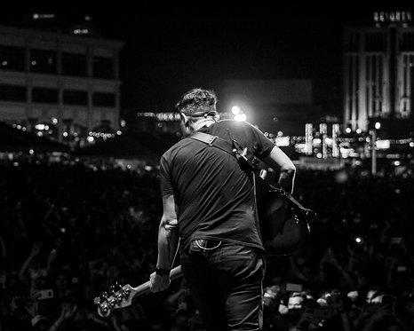 Mark Hoppus of blink-182 - B&W