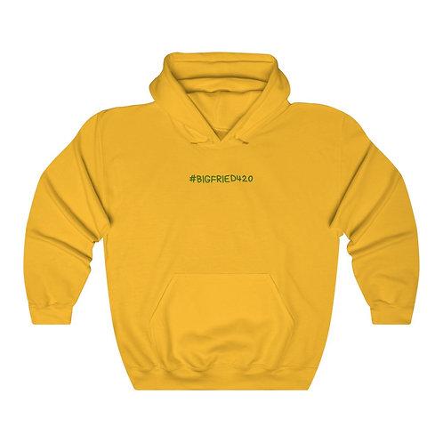 """BIG FRIED""  Hooded Sweatshirt"