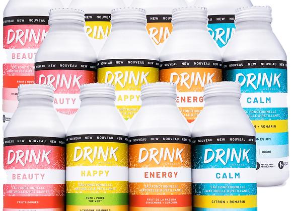 Pack Découverte Drink Waters XL 12 Bouteilles