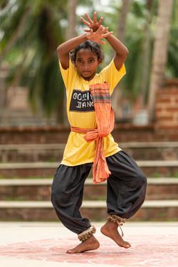 A Young Goti Pua Dancer