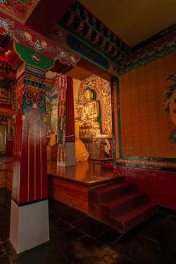 Temple in Norbulingka Institute