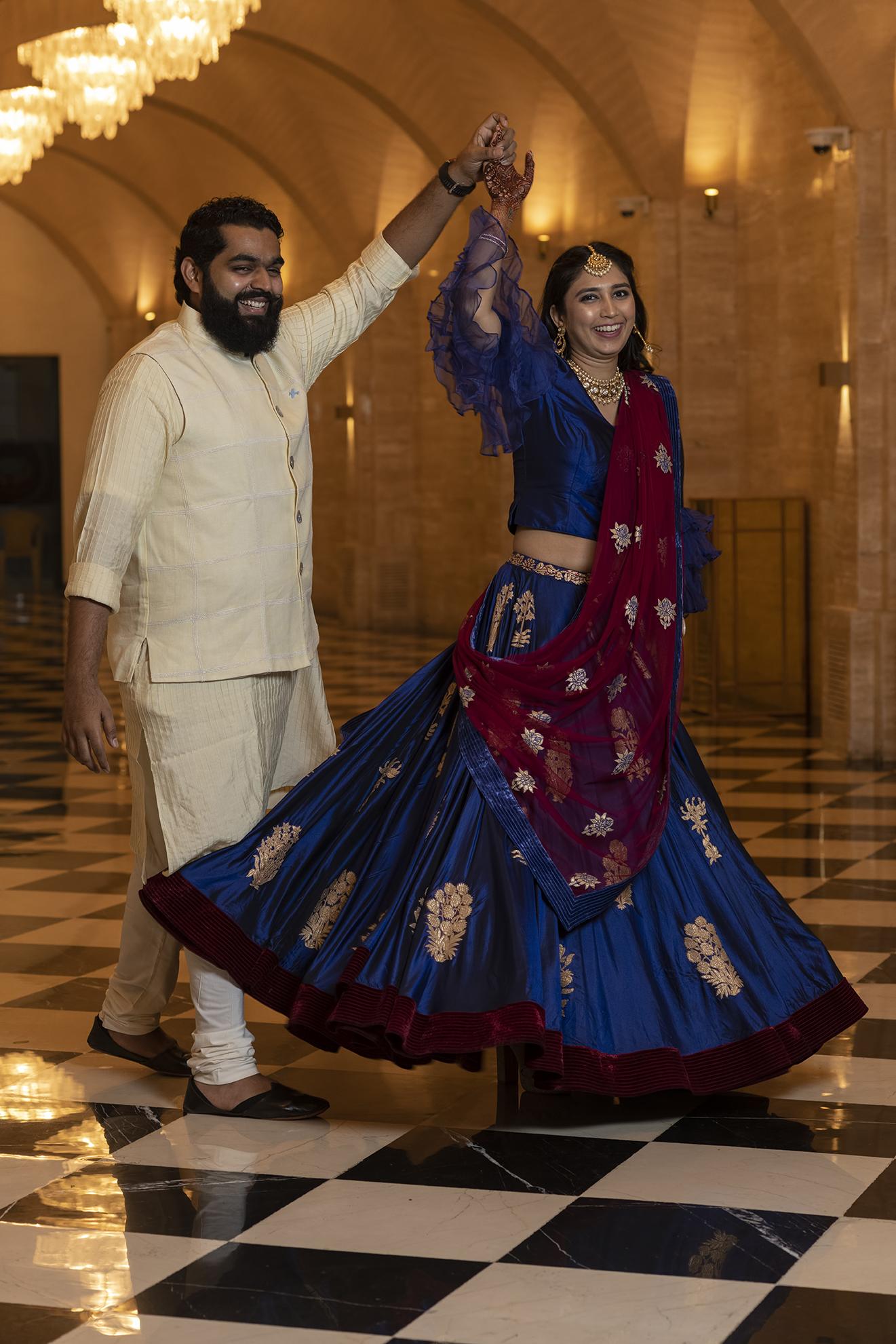 Juhi and Dishant sangeet
