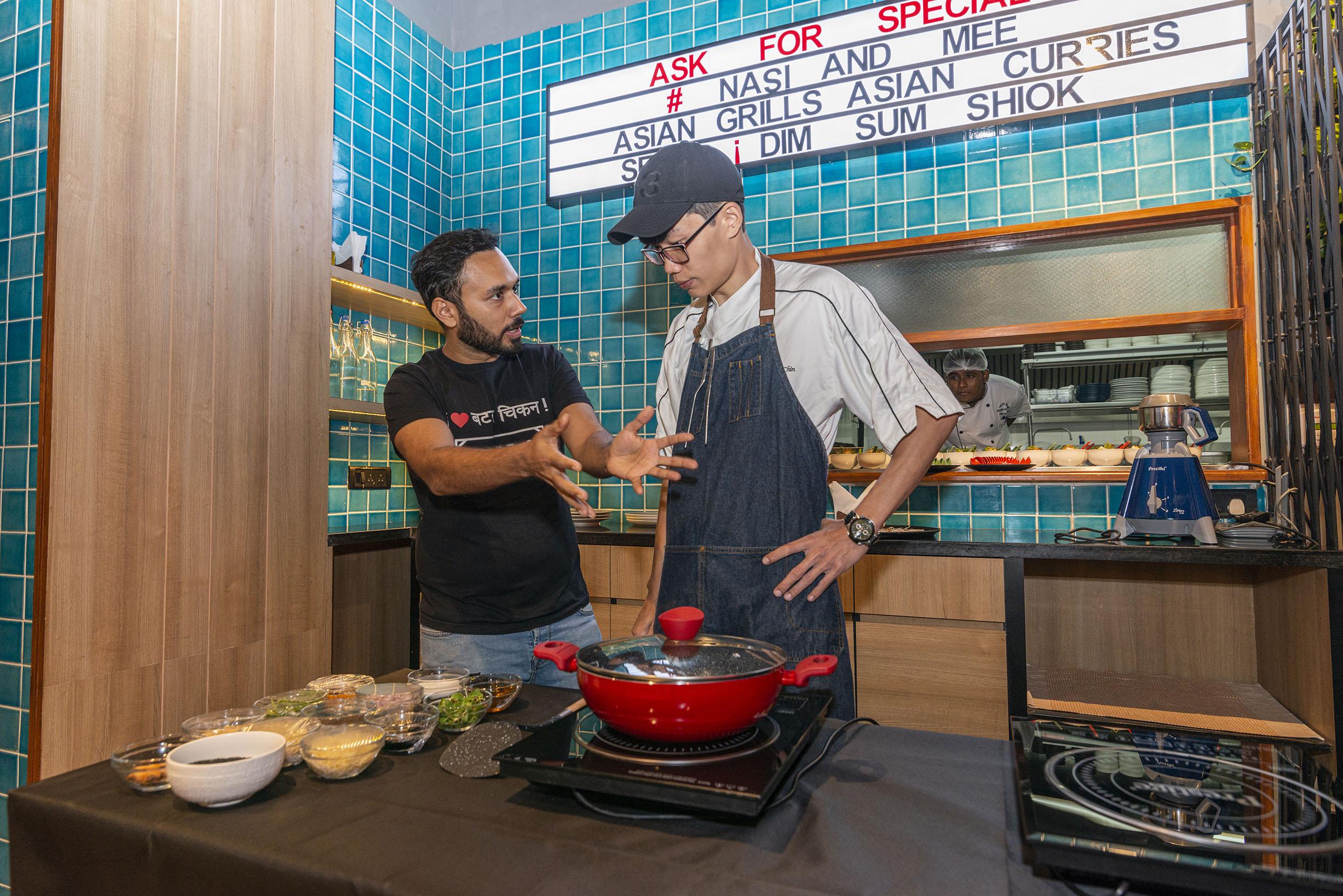 Chef Saransh @ Nasi And Mee