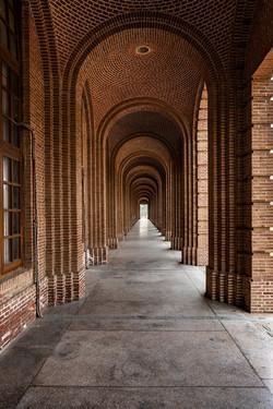 Archway at FRI, Dehradun