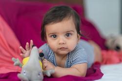 6 months old boy shoot