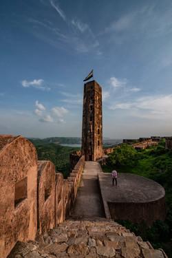 Tower at Jaidev Fort, Jaipur