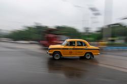 The Iconic Yellow Cab, Kolkata