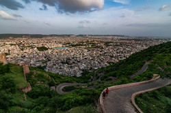 View from Nahargarh Fort, Jaipur