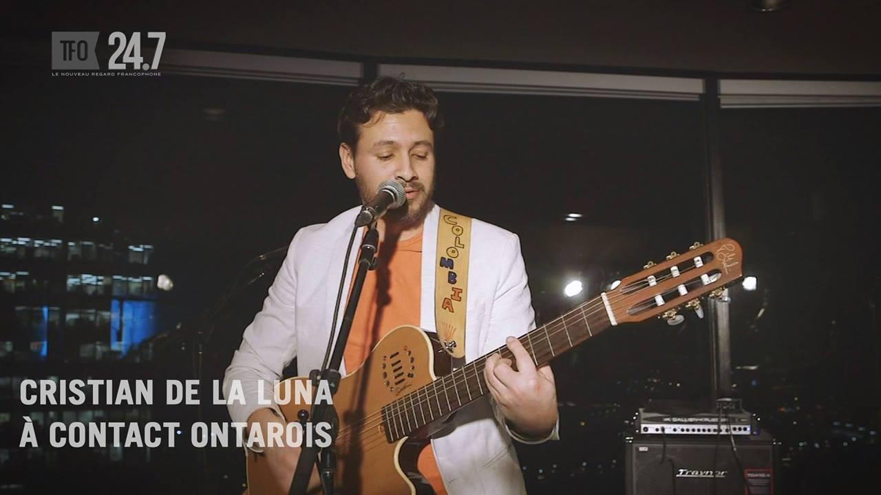 Cristian De la Luna à Ottawa, en musique de la Colombie au Canada