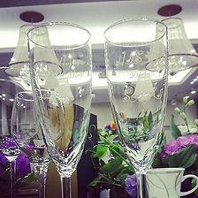 オリジナル乾杯グラス✴✴✴ ウェディングパーティーのstartに使う乾杯グラスは