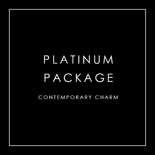 Platinum Package - Contemporary Charm