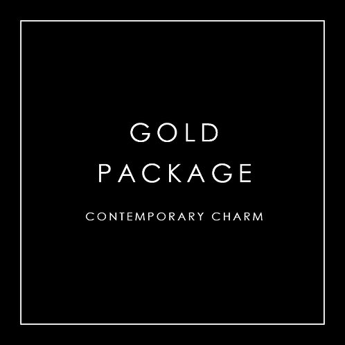 Gold Package - Contemporary Charm