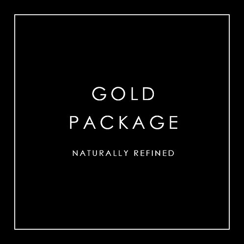 Gold Package - Naturally Refined