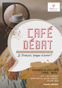 Café Débat - Le Français, langue d'aveni