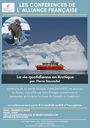 Daily life in Arctic by Pierre Sauvadet