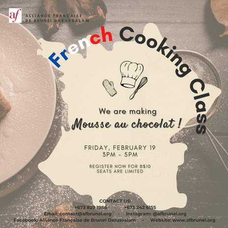 French Cooking Class 19.02.21