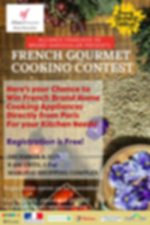 (AFBD) French Gourmet Cooking Contest Po